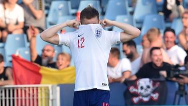 Englands U21-Team unterlag Rumänien mit 2:4