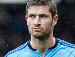 Teleurstelling bij Karim El Ahmadi na afloop van het competitieduel PEC Zwolle - Feyenoord (09-04-2017).