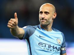 Pablo Zabaleta nació en 1985 y ya piensa en retirarse.