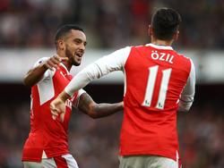 The Walcott und Mesut Özil werden für Arsenal wohl nicht mehr zusammen auf dem Platz stehen