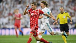 Der FC Bayern testet gegen Real Madrid