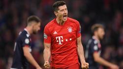 Robert Lewandowski traf für den FC Bayern auch gegen Hoffenheim