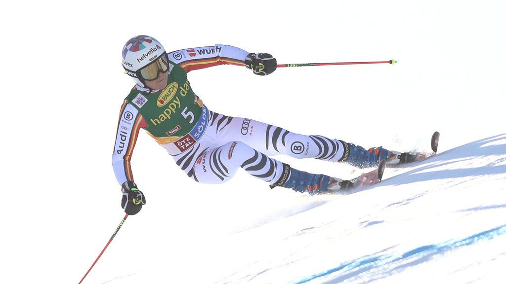 Viktoria Rebensburg verpasste die Podestplätze