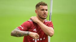 Lucas Hernández ist beim FC Bayern wieder im Lauftraining