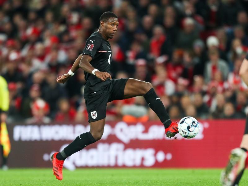 David Alaba hofft nach wie vor mit Österreich auf die WM