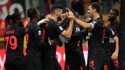 Milan sprang am Dienstag auf Platz eins
