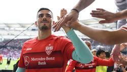 Wird im Pokalspiel gegen Bayer Leverkusen im Tor des VfB Stuttgart stehen: Keeper Fabian Bredlow