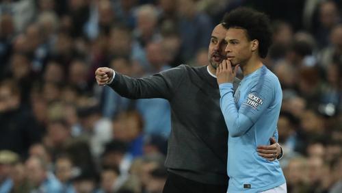 Leroy Sané wird am Freitagabend sein Comeback im Trikot von Manchester City feiern