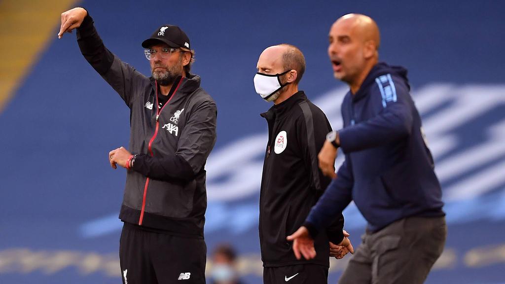 Jürgen Klopp und der Liverpool unterlagen Manchester City