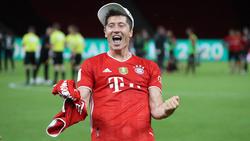 Mal wieder Mann des Tages: Robert Lewandowski vom FC Bayern