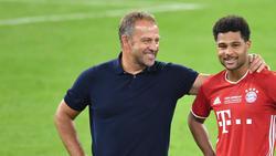 Hansi Flick will den Kader des FC Bayern gern noch verstärkt wissen