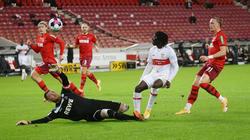 Der VfB Stuttgart und der 1. FC Köln trennen sich zum Auftat des 5. Bundesliga-Spieltag 1:1-Unentschieden