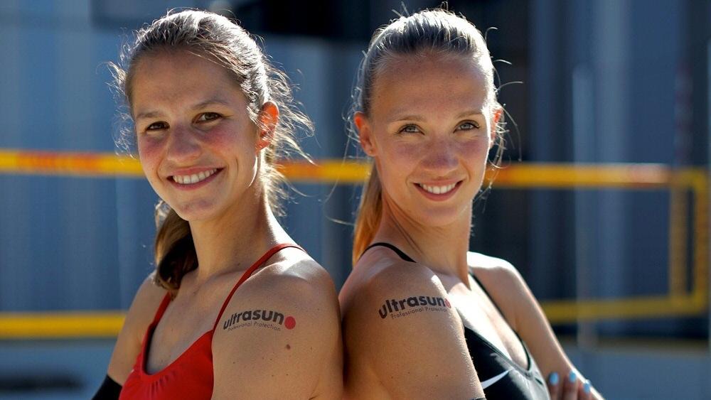 Kein Duo mehr: Chantal Laboureur und Sandra Ittlinger (r.)