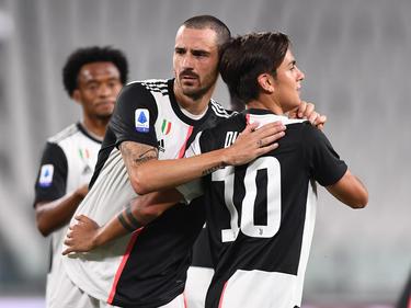 Ni Bonucci ni Dybala podrán ser de la partida en Oporto.