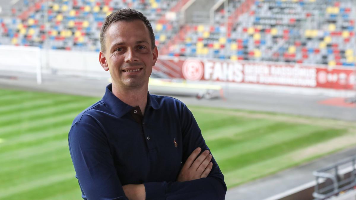 Christian Preußer ist der neue Cheftrainer bei Zweitligist Fortuna Düsseldorf