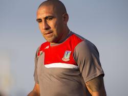 Ariel Pereyra, entrenador de la Unión La Calera. (Foto: Imago)