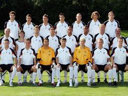Der deutsche U19-Kader für die EM 2005