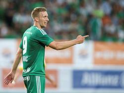Robert Berić verabschiedet sich von Rapid