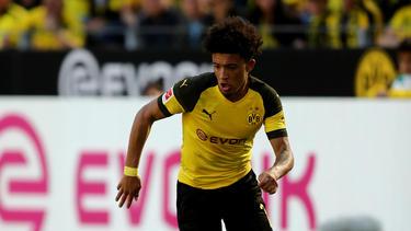 Jadon Sancho wechselte im vergangenen Sommer zum BVB