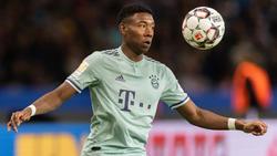 David Alaba vom Fc Bayern soll das Interesse des FC Barcelona geweckt haben