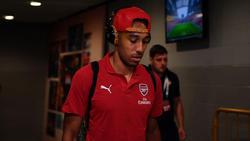 Der frühere BVB-Star Pierre-Emerick Aubameyang spielt seit Januar für Arsenal