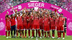Der FC Bayern sicherte sich 2017 den Titel