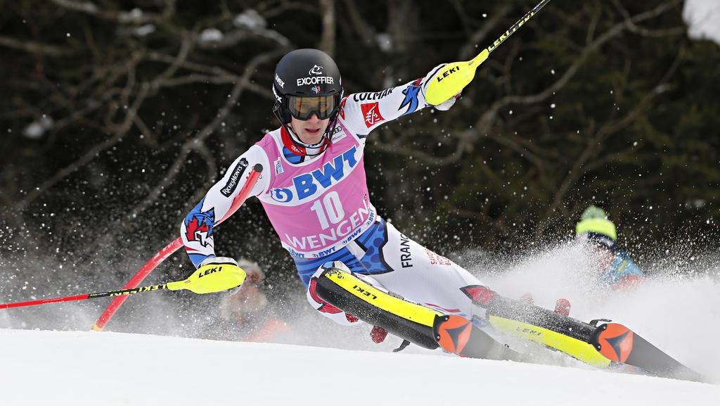 Clément Noel gewinnt den Slalom von Wengen vor dem Austria-Duo Feller und Hirscher