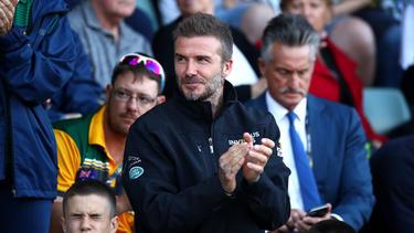 David Beckham wird mit einer Statue geehrt