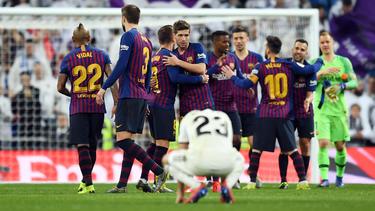 Glücklicher Sieg für Barca