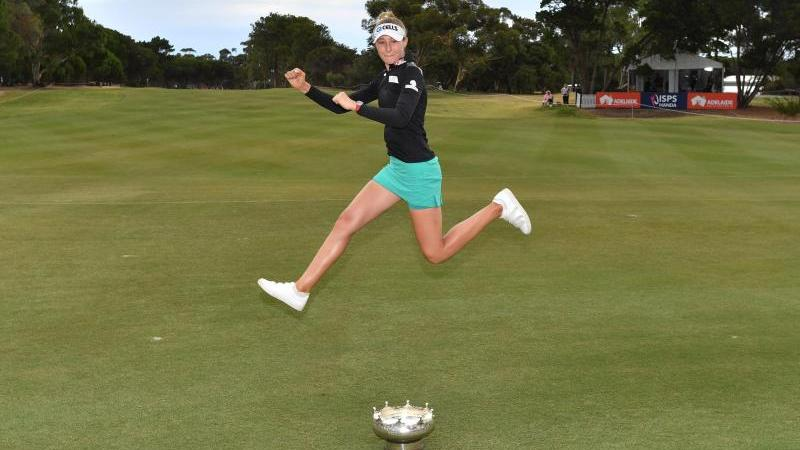 Golferin Nelly Korda triumhierte bei den Australian Open