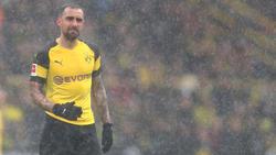 Paco Alcácer droht ausgerechnet für die Partie in München auszufallen