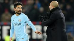 Nach Kritik: Guardiola widerspricht Gündogan (l.)