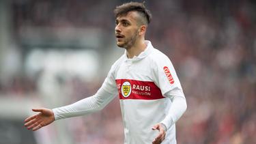 Anastasios Donis hatte es nicht immer leicht beim VfB