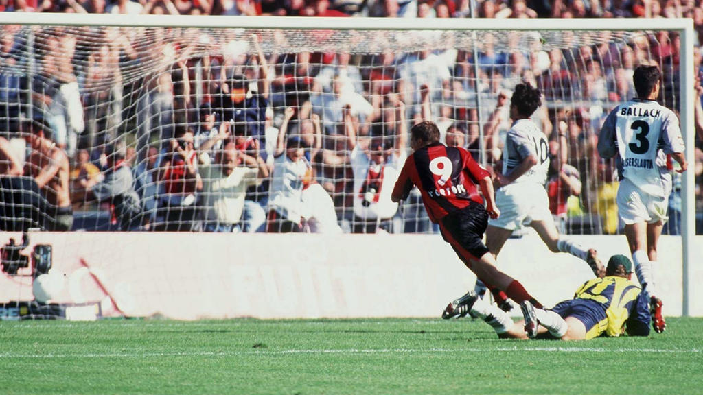 Jan-Aage Fjörtoft schoss die Eintracht 1999 zum Klassenerhalt