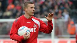 Der frühere Kölner Lukas Podolski spielt derzeit Fußball in Japan
