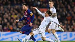 Real Madrid und der FC Barcelona trennten sich torlos