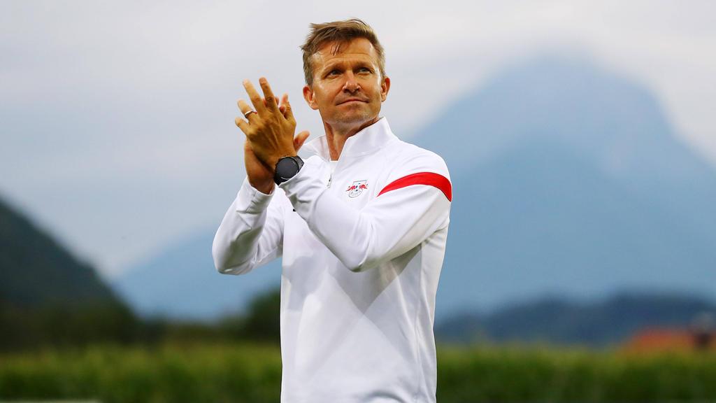 Jesse Marsch geht in seine erste Saison in Deutschland