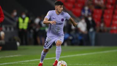 Yusuf Demir gab sein LaLiga-Debüt für den FC Barcelona