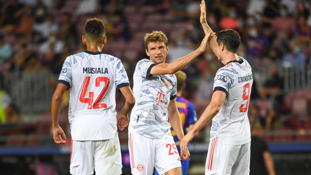 Thomas Müller traf erneut gegen den FC Barcelona