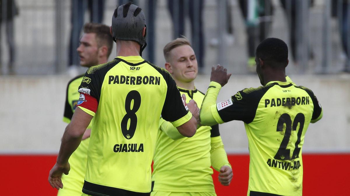 Der SC Paderborn setzte sich gegen Hannover 96 durch