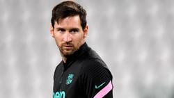 Lionel Messi vom FC Barcelona sieht sich harscher Kritik ausgesetzt
