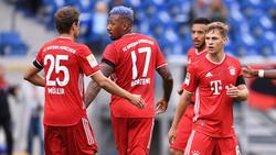 Beim FC Bayern gemeinsam erfolgreich: Thomas Müller, Jérôme Boateng und Joshua Kimmich
