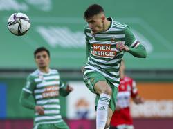 Dejan Ljubičić ist bei Rapid zum Anführer gereift
