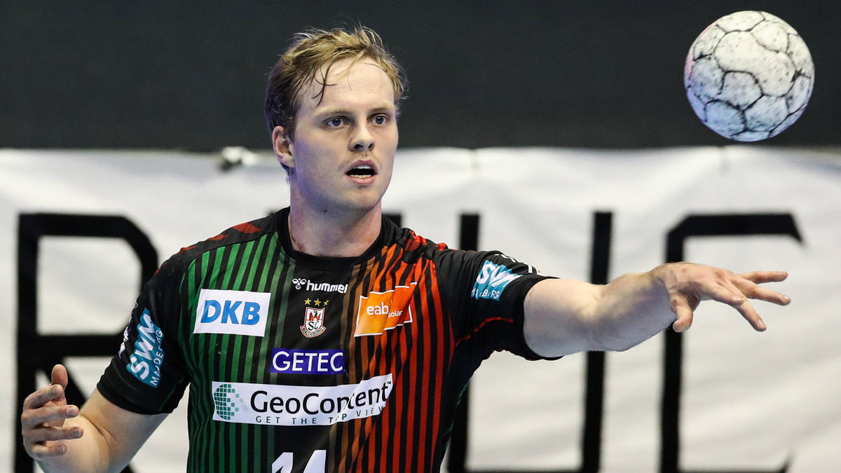 Omar Ingi Magnusson überzeugte beim SC Magdeburg