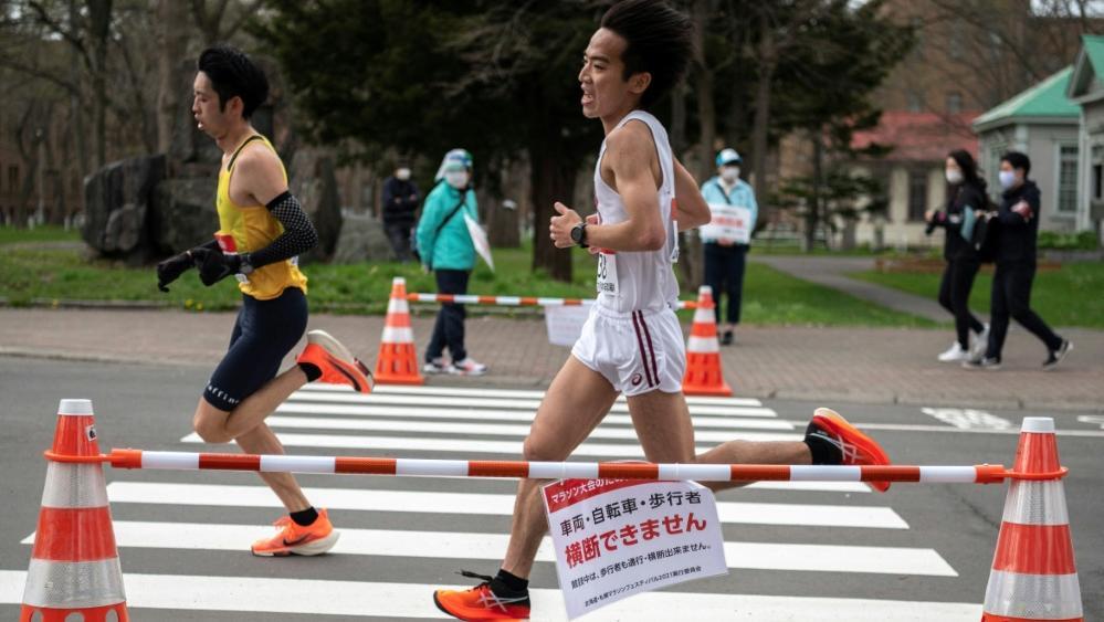 In Sapporo wurde für den Olympia-Halbmarathon getestet