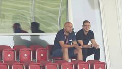 Kennen sich aus gemeinsamer Zeit bei Mainz 05: Der neue Schalke-Sportdirekter Schröder und Scout Hechelmann