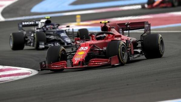 Ferrari wurde beim Formel-1-Rennen in Frankreich durchgereicht