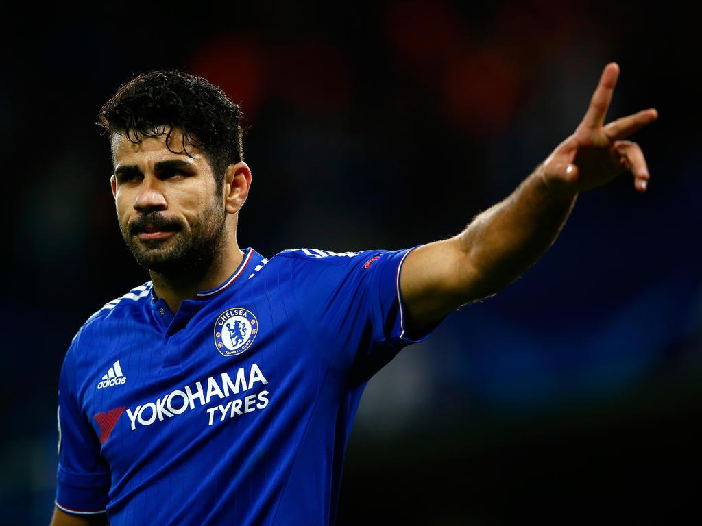 Diego Costa marcó uno de los dos tantos del Chelsea ante el Oporto. (Foto: Getty)