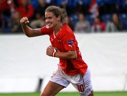 Nina Burger ist in Österreichs Frauen-Nationalteam die personifizierte Torgarantie