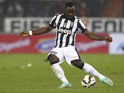 Kwadwo Asamoah flankt